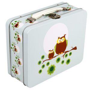 Tin kuffert ugle-0