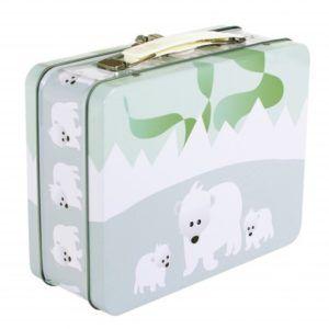 Tin kuffert isbjørn-0