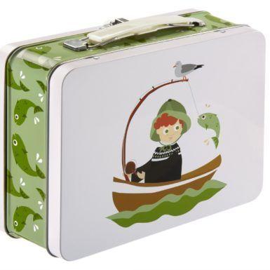 Tin kuffert kyst -0