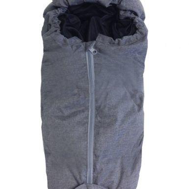 Easygrow Dukke Kørepose - Grey Melange-0