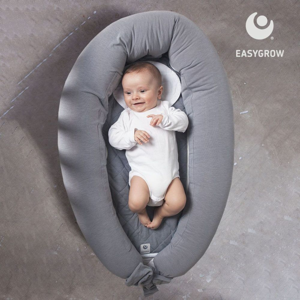 Easygrow - Mum & Me Ammepude (og Babynest), Rosa-5760