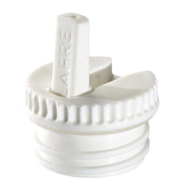 Vippetud til stålflaske, hvid-0