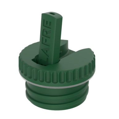 Vippetud til stålflaske i grøn-0