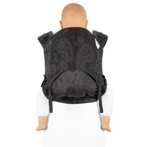 Fidella - FlyClick Half-Buckle Bæresele - PersianPaisley/Anthracite - Toddler-0