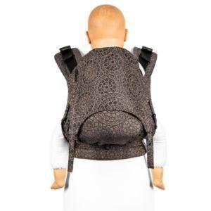 Fidella_fusion_2.0_full_buckle_baby_carrier_mosaic_mocha_brown_brun_bæresele_slynge_vikle_toddler