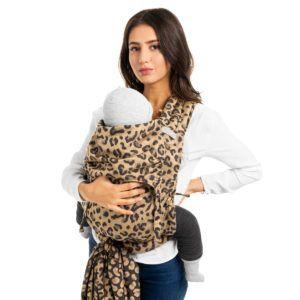 Fidella - Fly Tai Mei Tai - Leopard/Gold - Toddler-0