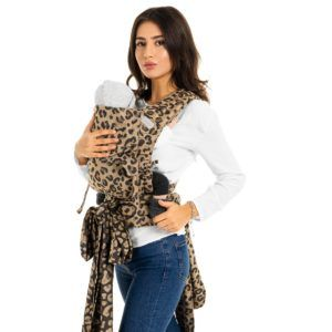 Fidella - Fly Tai Mei Tai - Leopard/Gold - Baby-0