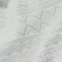 Fidella - Baby Wrap Fastvikle - Cubic Lines/ Pale Grey-0