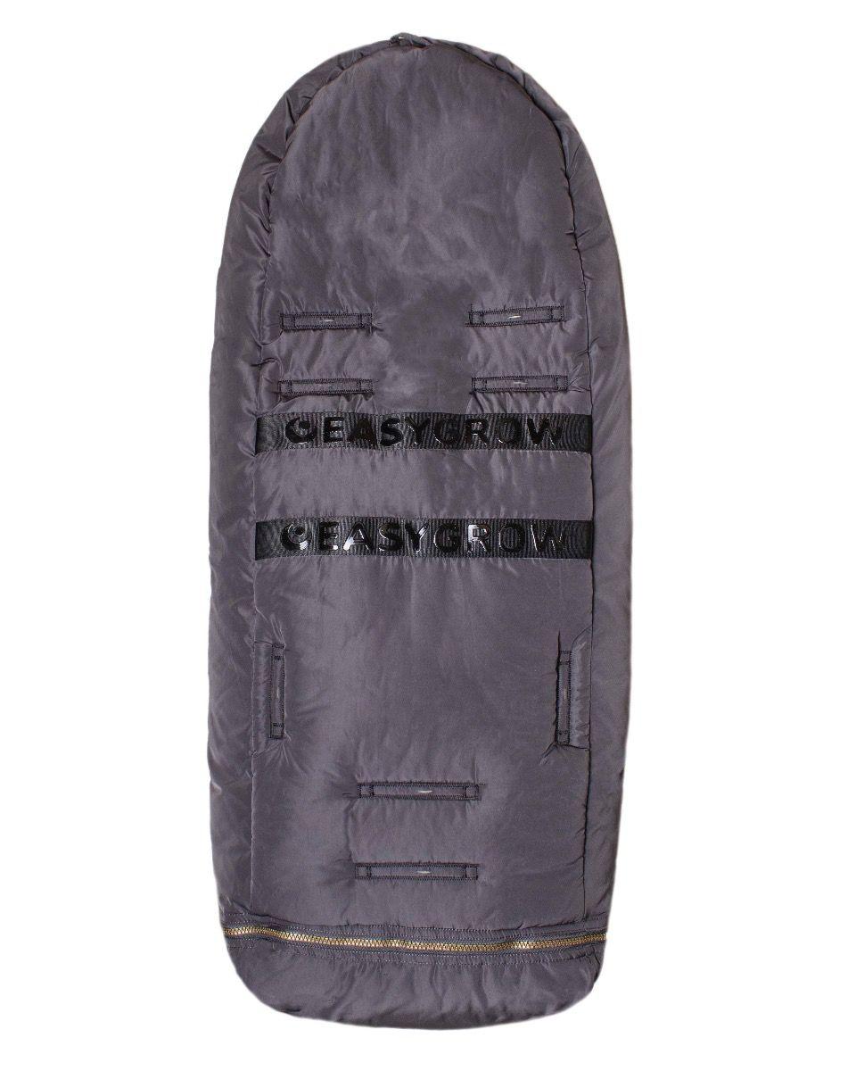 Easygrow Hygge Kørepose - Lead Grey-6828