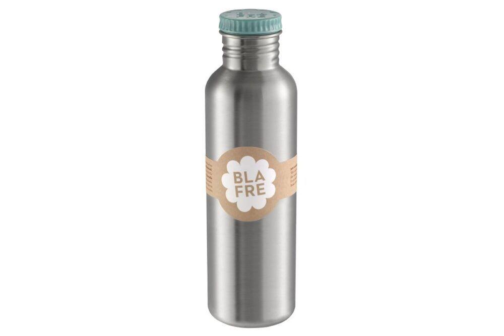 Blafre Stålflaske 750ml - Blågrøn-0