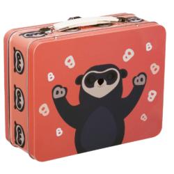 Brillebjørn tin kuffert | Godkendt til opbevaring af mad |