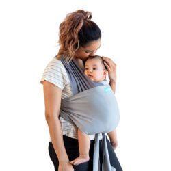 MOBY Easy Wrap (100% bomuld) | Ergonomisk og stilfuld |